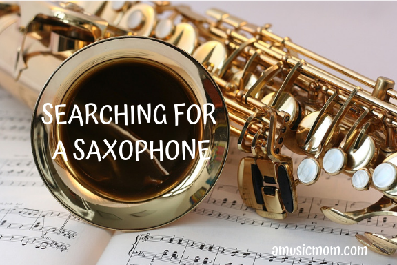 Searching for a Saxophone