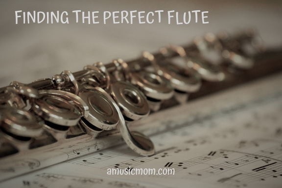 Finding the perfect flute